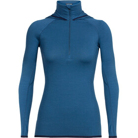 Icebreaker Fluid Zone Midlayer Dames blauw